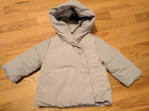 Baby winter coat size 6-9m
