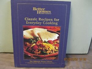 CLASSIC RECIPES FOR EVERYDAY COOKING
