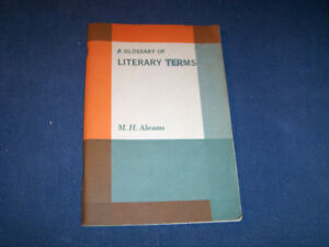A GLOSSARY OF LITERARY TERMS-M.H. ABRAMS-CORNELL-1965