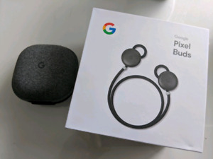 Google Pixel buds, still new! Also works for Apple devices!