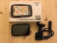 TomTom Go 510 Sat Nav - World maps, Life time traffic & speed cameras, boxed