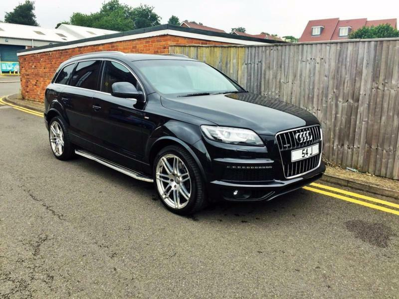 2010 audi q7 3 0 tdi s line tiptronic quattro 5dr black f s h only 78k in chesham. Black Bedroom Furniture Sets. Home Design Ideas
