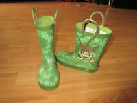 Size 11 Monkey rain boots