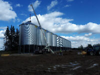 Grain Bin Construction