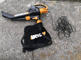 3000w Worx All-in-one Blower/Vac/Mulcher