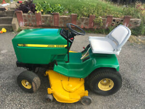 Ride on lawn tractor