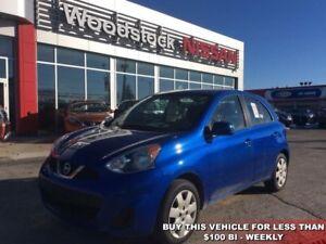 2015 Nissan Micra SV  - Bluetooth - $78.15 B/W