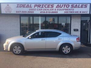 2010 Dodge Avenger SE,ACCIDENT FREE,CERTIFIED.