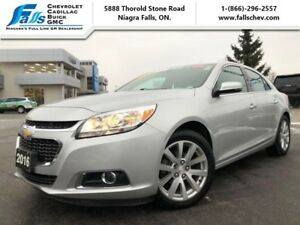 2016 Chevrolet Malibu Limited LTZ  LEATHER,SUNROOF,NAV,REARCAM