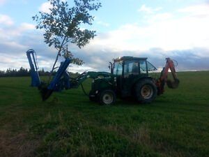 Care Tree Spade with Skid steerquick attach