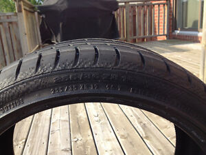Continental Contisport Contact 3 - 1 Tire 255/35/ZR19 West Island Greater Montréal image 5