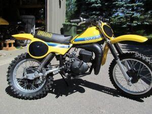 Vintage Suzuki 1981 RM 80 restored