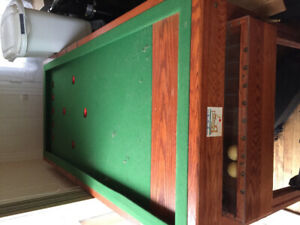 Table de billard Russe