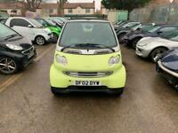 2002 smart city-cabriolet smart and pulse 2dr Auto CONVERTIBLE Petrol Automatic