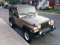 2006 Jeep TJ wrangler sport Cabriolet -legerement negociable