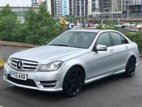 2013 MERCEDES C-CLASS C350 CDI BLUEEFFICIENCY AMG SPORT PLUS SALOON DIESEL