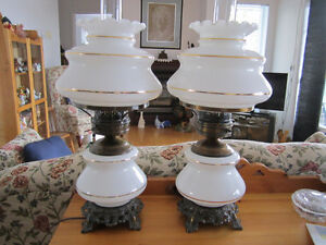 2 lampes styLe antique