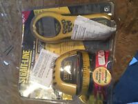 Strait Line laser level and read