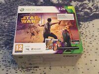 Xbox 360 320GB HDD, Kinect +nyko zoom, 2xGames: Battlefield 4, NBA 2014. 1x Wireless controller.