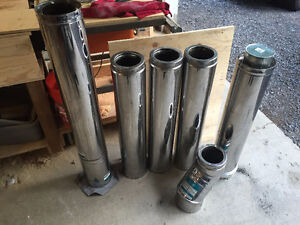 """5"""" insulated stove pipe"""