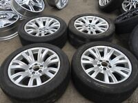 "19"" BMW X5 x6 alloy wheels alloys rims vw Volkswagen transporter t5 5x120"