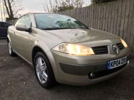 2004 04 Renault Megane 1.6 VVT 115 Coupe Cabriolet Privilege 49.6 mpg p/x