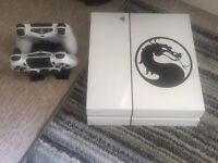 PS4 (1tb) White, 2 Controllers + 18 Games
