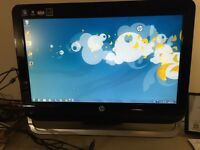 Hp all in one desktop for sale !