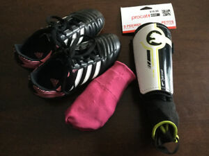 UNDER ARMOUR & ADIDAS SOCCER CLEATS