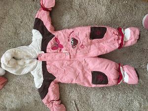 Salopette pour fille de 3-6 mois