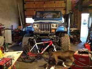 Jeep yj de trail