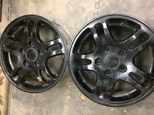 Set of 4 Honda Wheels