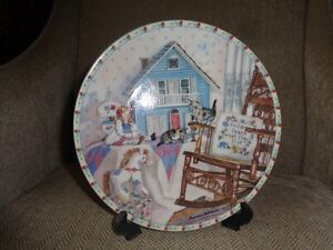 Playtime collector plate by Hannah Hollister Ingmire