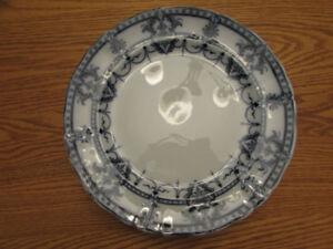 "Antique/Vintage Adderleys ""Laurier"" Flow Blue Ironstone Plate(s)"