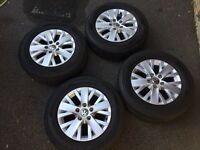 VW Transporter alloys and tyres 16inch