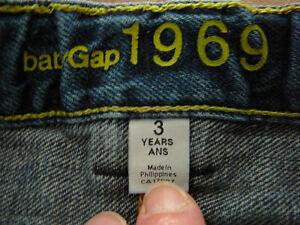"""3 Jeans """"GAP"""" pour garçon (taille 3) West Island Greater Montréal image 10"""