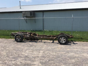 2002 02 Silverado Sierra Frame Rolling parts part out