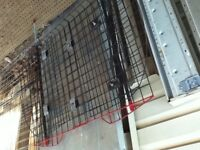 Dog crate & suv barrier cage