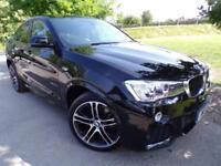 2016 BMW X4 xDrive20d M Sport 5dr Step Auto M Sport Plus Pack! DAB! 5 door C...