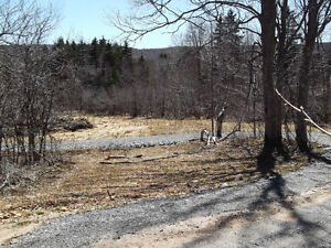 W.River Pictou Co. New Road  2 1/2 Acre Lot  Country Living Site