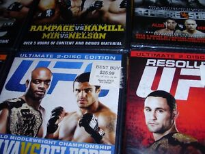 """15 UFC dvds ***BRAND NEW*** trade for 17"""" Rims and Tires London Ontario image 9"""