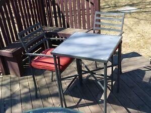 ensemble de patio pour 2 personnes