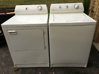 Maytag Performa Washer and Dryer