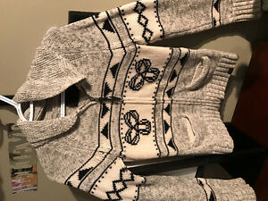 TNA sweater, Lulu Sweater, Guess jeans