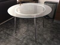 IKEA glass table for sale