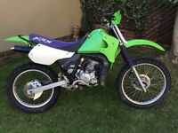 Kawasaki kmx 125 field bike