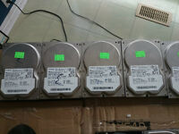 Used + Tested Hitachi SATA Hard Drives (40GB)