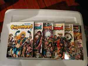 Empowered comic graphic novel book series volume 1-6