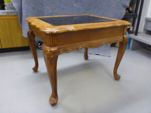 SOLID CHERRYWOOD END TABLES - $35.00 EACH