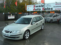 2007 SAAB 9-3 VECTOR AUTOMATIC 1.9TiD ONLY 88,398 MILES, FULL SERVICE HISTORY